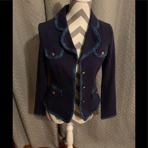 Tommy Girl cotton blend preppy blazer